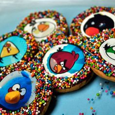 Cookie monsters to munch on over a chugging cup of coffee :)