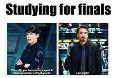 Finals Right Now.