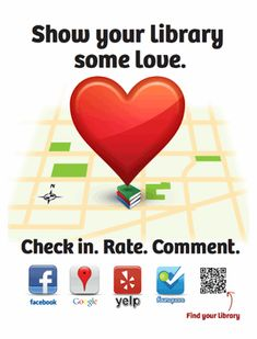 Multnomah County Library used this very effective graphic as part of their Libraries Yes campaign in 2012.