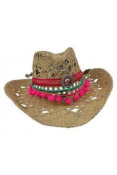 Peacebird Summer Hat - Fuchsia