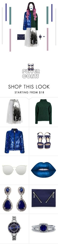 """Eccentric Style #5"" by nello-hope on Polyvore featuring Anouki, Lowie, MSGM, Paul Andrew, Linda Farrow, Lime Crime, NEXTE Jewelry, Kenzo, SO & CO and BERRICLE"