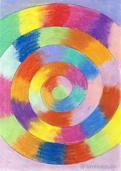 Farbspirale - Pastellkreide … Hate Cats, Garden Toys, Dot Painting, Chalk Art, Art School, Adult Coloring, Art Lessons, Art For Kids, Art Projects