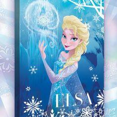 Tableau Elsa La Reine des Neiges Disney