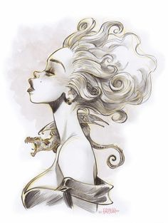 Alessandro Barbucci Character Illustration, Illustration Art, Sky Doll, Bd Comics, Cartoon Girl Drawing, Cyberpunk Art, Comic Artist, Zbrush, Drawing Sketches