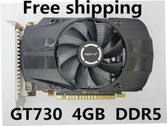 D'origine Carte Graphique GT730 4 GB DDR5 128Bit pci Express Placa de Vidéo carte graphique Carte Vidéo pour Nvidia GT livraison gratuite