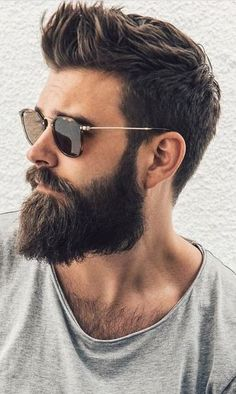 Beard styles 335377503501403824 - Ducktail Beard Rugged Look with Sunglasses Source by Beard Styles For Men, Hair And Beard Styles, Curly Hair Styles, Mens Hairstyles With Beard, Haircuts For Men, Short Hairstyles, Anime Hairstyles, Men Hairstyle Short, Hipster Hairstyles Men