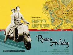 Roman Holiday [1953] directed by William Wyler, starring Gregory Peck and Audrey Hepburn.