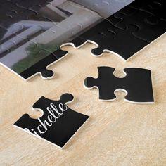 Custom Photo Jigsaw Puzzle | Zazzle.com Photo Jigsaw Puzzle, Jigsaw Puzzles, Teacher Hair, Unicorn Halloween, Mask Shop, Halloween Christmas, Dog Design, Custom Photo, Customized Gifts