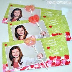 SUPER Sweet Lollipop Valentine's Card