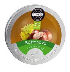 Bylinná mast Kaštanová 50 ml - Topvet