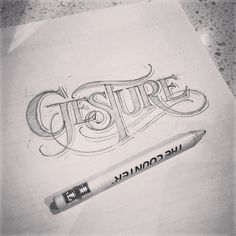 Sketching at the diner last night. #lettering #sketch