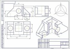 Isometric Drawing Exercises, Mechanical Engineering Design, Interesting Drawings, 3d Cad Models, Technical Drawing, Presentation Design, Autocad, Diagram, Tapestry