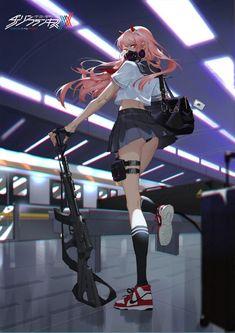 Kawaii Anime Girl, Manga Anime Girl, Cool Anime Girl, Beautiful Anime Girl, Anime Girls, Anime Girl Drawings, Anime Sexy, Sad Anime, Querida No Franxx
