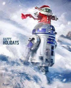Star Wars Christmas, Dark Christmas, Iron Man Cartoon, Star Wars Wall Art, Star Wars Celebration, Star Wars Pictures, Manga, Unique Art, Memes