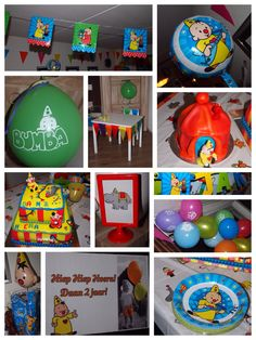 Decoratie bumba feest Decoration bumba the clown party 2nd birthday