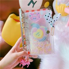 """/""""BlingBling Faux Leather/"""" 1pc Diary Cute Journal Monthly Plan Lined Grid Papers"""