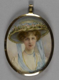 Lady Edith Helen Chaplin, Marchioness of Londonderry (1879-1959), c.1900. British School