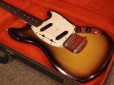 1971 Fender USA Mustang Sunburst Vintage Used w Hardcase | eBay