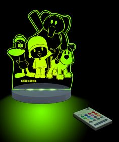 Look at this #zulilyfind! Pocoyo & Friends Color-Changing LED Night-Light by Pocoyo #zulilyfinds