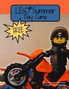 FREE LEGO Summer Day Camp Lesson Plans - this is pdf from teacherspayteachers, i have the downloaded pdf, please see me for access