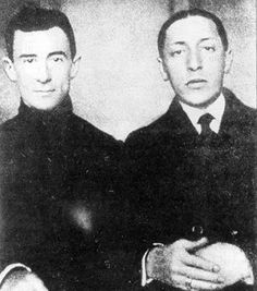 "amemuette: "" Ravel and Stravinsky. """