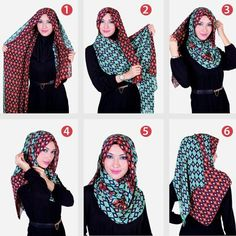 Classy 6 Steps Hijab Tutorial