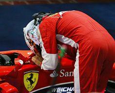 Forza Seb, Forza Ferrari!