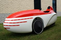 I think having a velomobile would be so much fun.  It's like a compromise between a car and a bike.