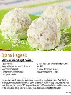 Diana Hagee's Mexican Wedding Cookies