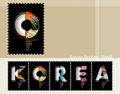 """Check out new work on my @Behance portfolio: """"Stamp Design - Korean Heritage Month"""" http://be.net/gallery/47988107/Stamp-Design-Korean-Heritage-Month"""