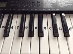 Let It GO (Frozen) - Keyboard/ Piano Tutorial Right Hand EASY!