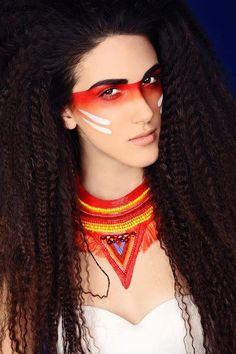 Indian Halloween Makeup Ideas for Women