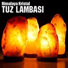 Doğal Kaya Tuzu Lambası Himalaya Tuzu Lambası 2-3 kg :: ipekway