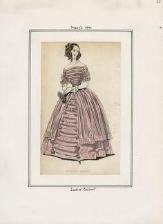 Ladies' Cabinet March 1841 LAPL
