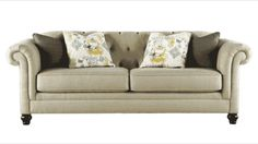 Attirant Tufted Couch (Ashley Furniture)