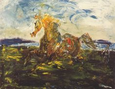 """""""Freedom"""" by Jack B Yeats Samuel Beckett, August Strindberg, Irish Painters, Jack B, Irish Art, Equine Art, Contemporary Paintings, Figurative Art, Modern Art"""