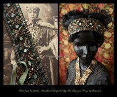 Great Gatsby Headband/Flapper Headband/Downton Abbey by Jevda, $55.00