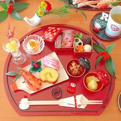 Exceptional Holiday cooking tips are offered on our website. Have a look and you wont be sorry you did. Japanese Table, Japanese New Year, Japanese Food, Japanese Recipes, Best Cookie Recipes, Holiday Recipes, Japanese Christmas, New Year's Eve Appetizers, New Years Eve Food