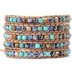 Paradise Wrap Bracelet by Florencescoveljewelry.com - color combs