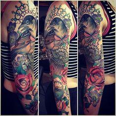 Tattoo by Tiny Miss Becca at Jayne Doe Tattoo in Hornchurch, UK