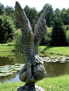 Engel, Engelsfiguren, Engelfiguren, Gartenfigur, Engel Skulpturen