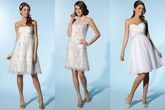 Wie wählt man ein kurzes Brautkleid