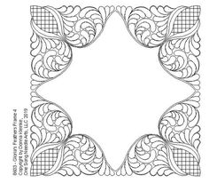 Machine Quilting Patterns, Longarm Quilting, Quilting Tips, Free Motion Quilting, Quilting Designs, Quilt Patterns, Mirror Crafts, Page Decoration, Whole Cloth Quilts