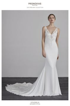 Discover the 2019 PRONOVIAS Preview Collection. Majka · Svatební šaty 628e9b9462