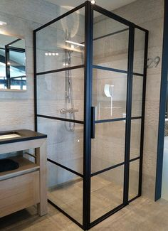 Small Bathroom Interior, Small Bathroom Renovations, Basement Renovations, Bathroom Inspo, Bathroom Inspiration, Master Bathroom, Bathrooms, Shower Cabinets, Home Spa
