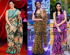 Exclusive Collection of Indian Celebrity Sarees and Designer Blouses Pink Saree Blouse, Indian Beauty Saree, Indian Celebrities, Deepika Padukone, Exclusive Collection, Blouse Designs, Formal Dresses, Floral, Anchors