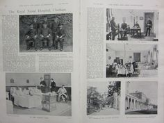 1898 BOER WAR ERA PRINT ROYAL NAVAL HOSPITAL CHATHAM OFFICERS SURGICAL QUARTERS