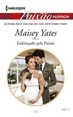 """Paixão Audácia: """"Enfeitiçado pela Paixão"""" de Maisey Yates."""
