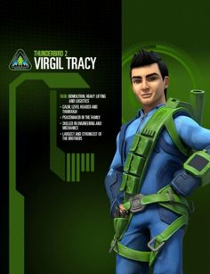 Virgil from thunderbirds.com Thunderbirds are Go 2015
