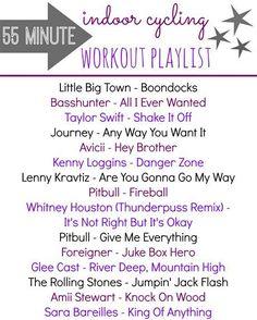 Spinning Class Playlist